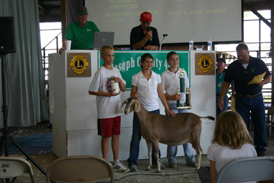 Grand Champion Dairy Doe, Nellie